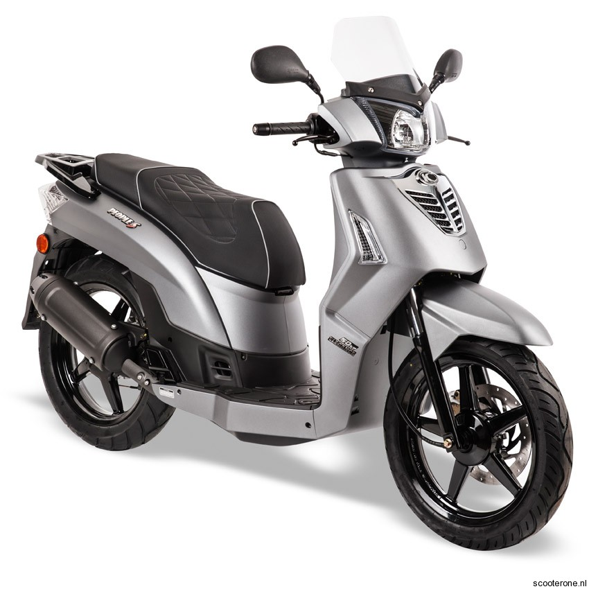 Kymco People S Diamond Silver ( MAT GRIJS )